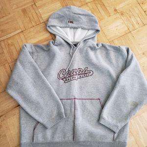 Ralph Lauren Chaps hooded sweatshirt large